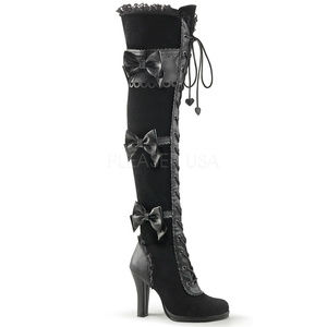 Shoes - Gothic High Heel Platform Over Knee Cosplay Boots